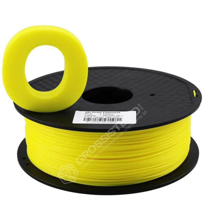 Fil 3D 1 Kg PLA 3.00 mm Jaune