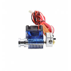KIT EXTRUDEUR 0.4mm E3D V6 24 V direct short avec Ventilateur