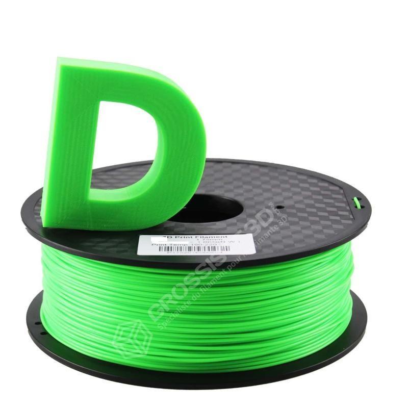 Filament 3D Fluorescent Vert ABS 3.00 mm
