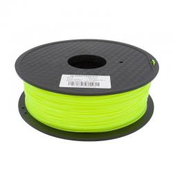 Filament 3D Fluorescent Jaune PLA 3.00 mm