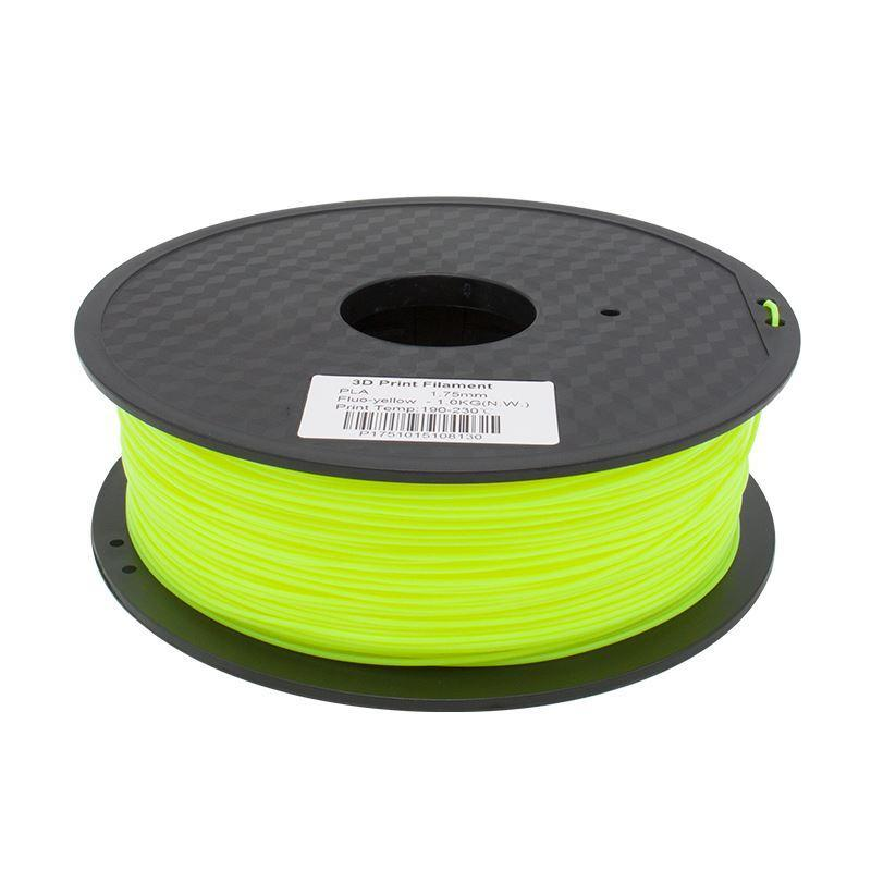 Filament 3D Fluorescent Jaune PLA 3.00 mm