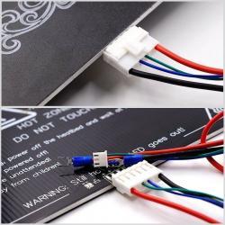 Câble plateau chauffant imprimante 3D Anet A6 / A8 / E10/ E12
