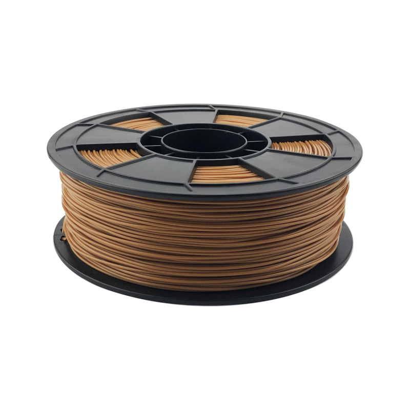 Fil 3D PLA 3 Kg 1.75 mm Marron