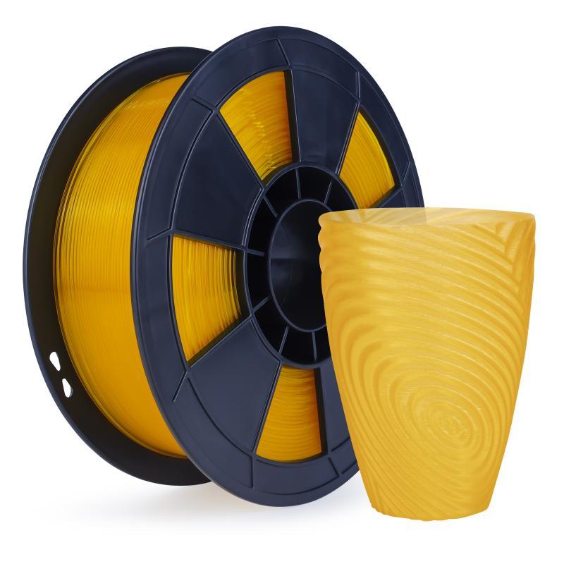 Filament 3D PLA Translucide 1 Kg Orange 1.75mm