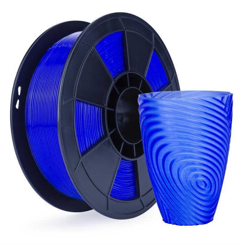 Filament 3D PLA Translucide 1 Kg Bleu 1.75mm