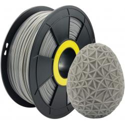 Filament 3D PETG 1 Kg Gris 1.75 mm