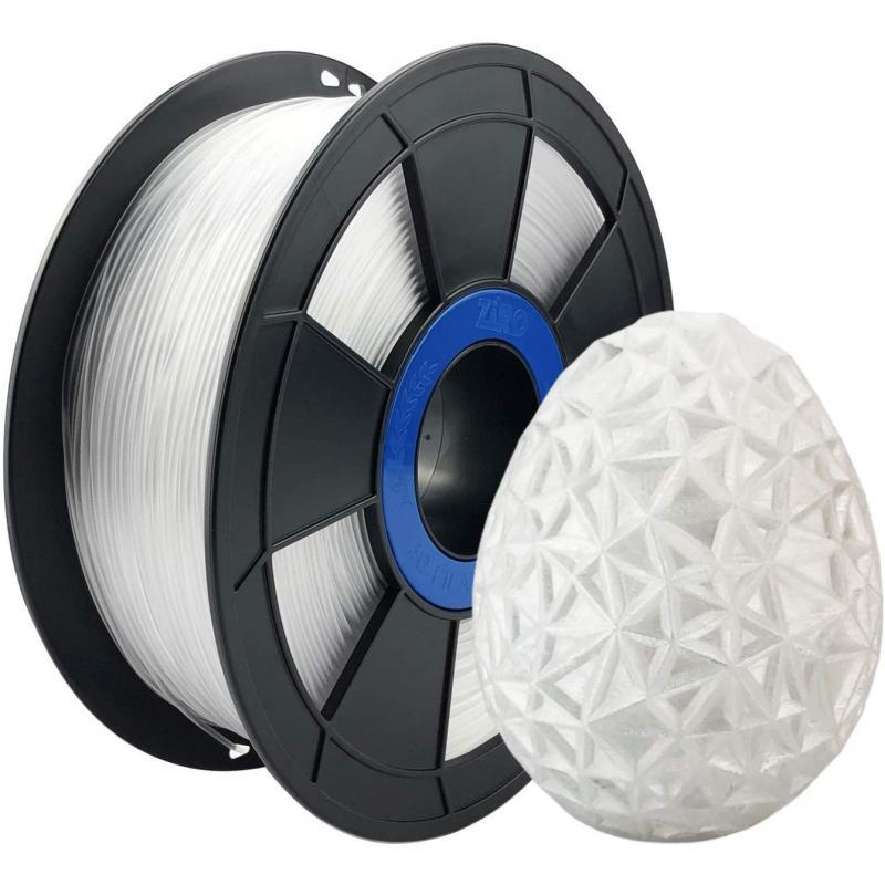 Filament 3D PETG 1 Kg Transparent 1.75 mm