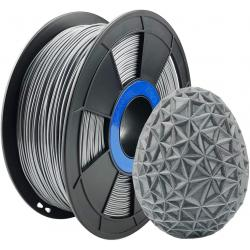 Filament 3D PETG 500g Argent 1.75 mm