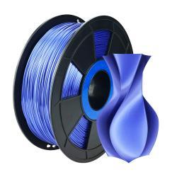 Filament 3D Silk Glossy 500g Bleu 1.75 mm