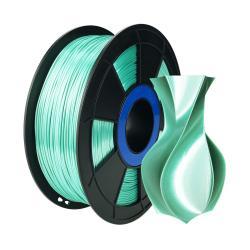Filament 3D Silk Glossy 500g Vert 1.75 mm