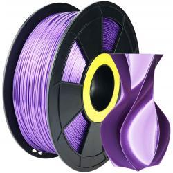 Filament 3D Silk Glossy 500g Violet 1.75 mm