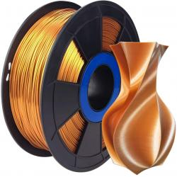Filament 3D Silk Glossy 500g Cuivre Rouge 1.75 mm