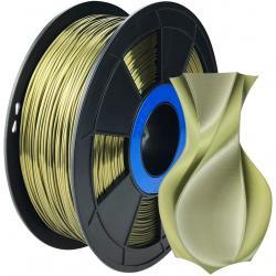 Filament 3D Silk Glossy 500g Bronze 1.75 mm