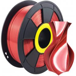 Filament 3D Silk Glossy 500g Rouge 1.75 mm