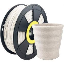 Filament 3D Stone PLA 1.75mm Blanc Straw