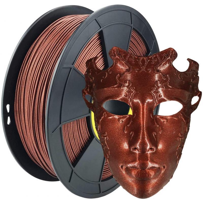 Filament 3D PLA Métallisé Rouge 1.75mm 500g