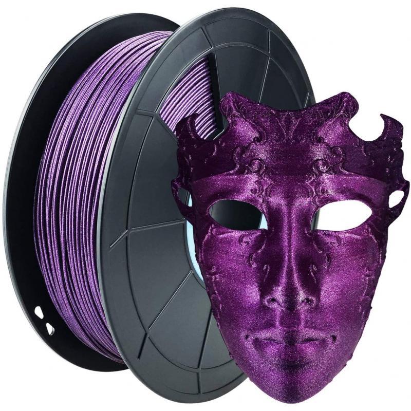 Filament 3D PLA Métallisé Violet 1.75mm 500g