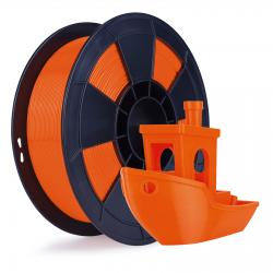 Filament 3D PLA Fluorescent 500g 1.75 mm Orange