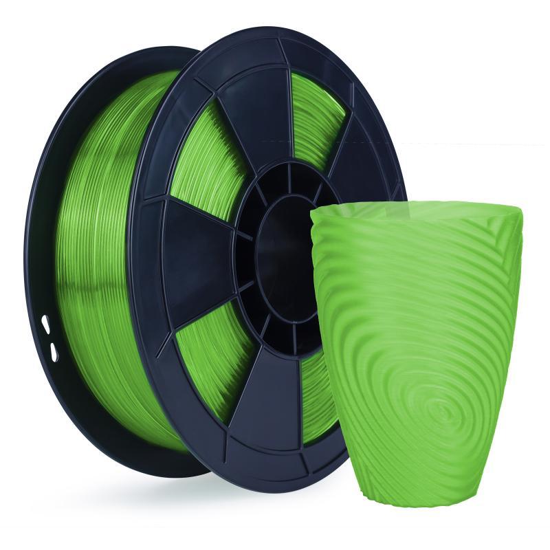 Filament 3D PLA Translucide 500g Vert 1.75mm