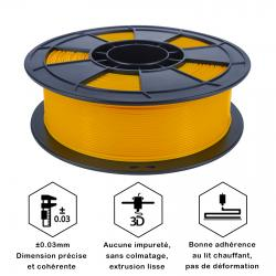 Fil 3D PLA 500g 1.75 mm Orange