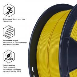 Fil 3D PLA 500g 1.75 mm Or