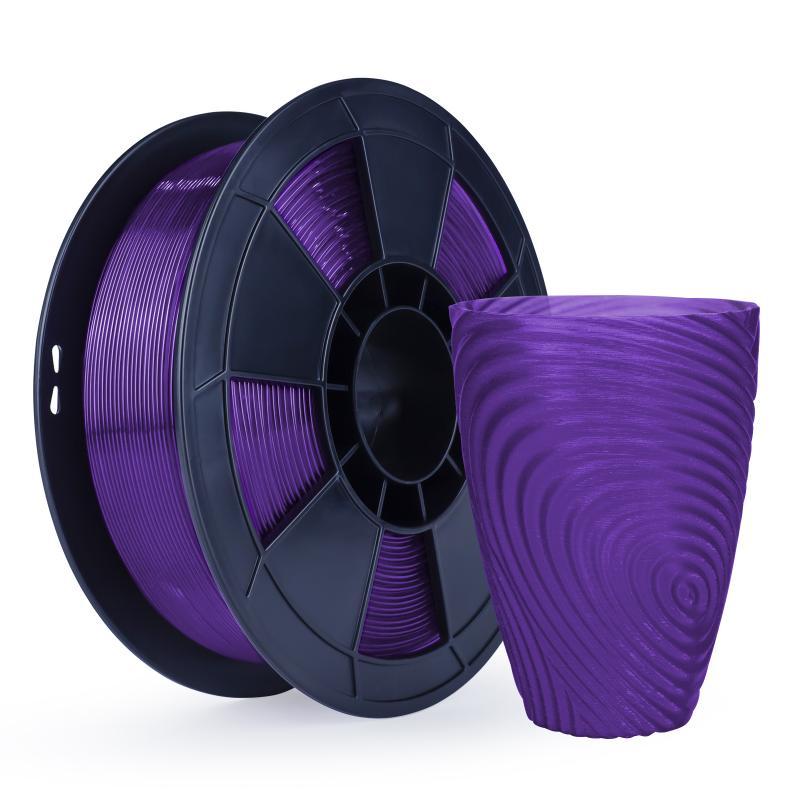 Filament 3D PLA Translucide 500g Violet 1.75mm