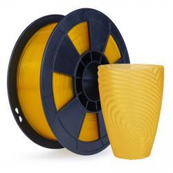 Filament 3D PLA Translucide 500g Orange 1.75mm