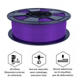 Fil 3D PLA 500g 1.75 mm Violet