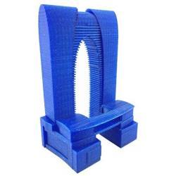 Filament 3D paillette 500g Bleu PLA 1.75 mm