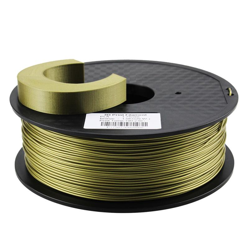 Fil 3D 1 Kg PLA 3.00 mm Bronze