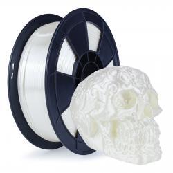 Filament 3D Silk Glossy 1 Kg Blanc 1.75 mm