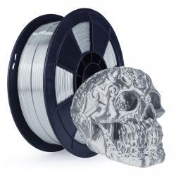Filament 3D Silk Glossy 1 Kg Argent 1.75 mm