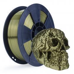 Filament 3D Silk Glossy 1 Kg Bronze 1.75 mm
