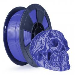 Filament 3D Silk Glossy 1 Kg Bleu 1.75 mm