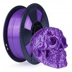 Filament 3D Silk Glossy 1 Kg Violet 1.75 mm