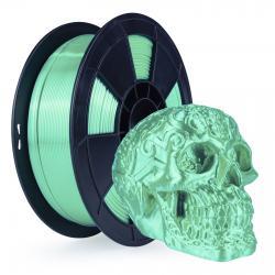 Filament 3D Silk Glossy 1 Kg Vert 1.75 mm