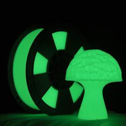 Filament 3D PLA Phosphorescent 1 kg 1.75 mm Vert