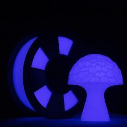 Filament 3D PLA Phosphorescent 500g 1.75 mm Violet