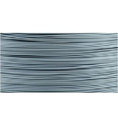 Filament PLA 1.75 mm Argent par 10 mètres