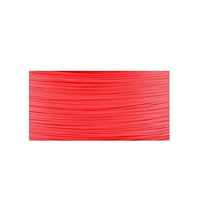 Filament 3D PLA Fluorescent 3.00 mm rouge rose PAR 10 MÈTRES