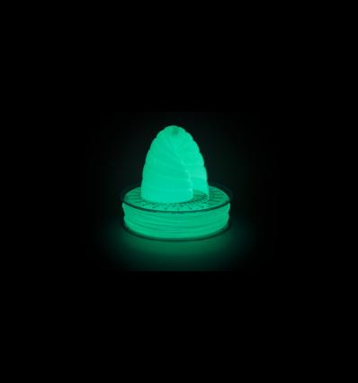 Filament PLA Phosphorescent 1.75 mm Vert par 10 mètres