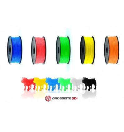 Pack Filament 3D PLA 3.00mm Fluorescent